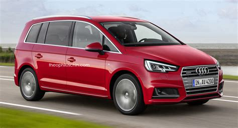 audi minivan fresh renderings of audi badged compact minivan