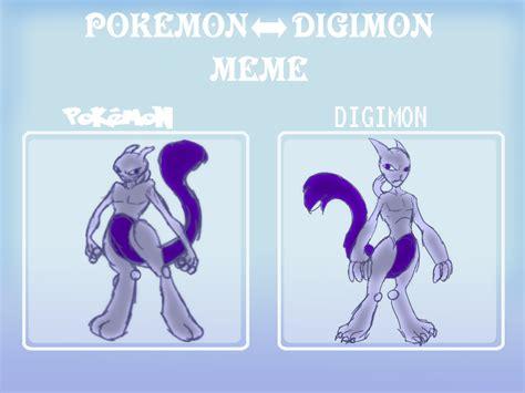 Digimon Memes - pokemon digimon meme by hanakofairhall on deviantart