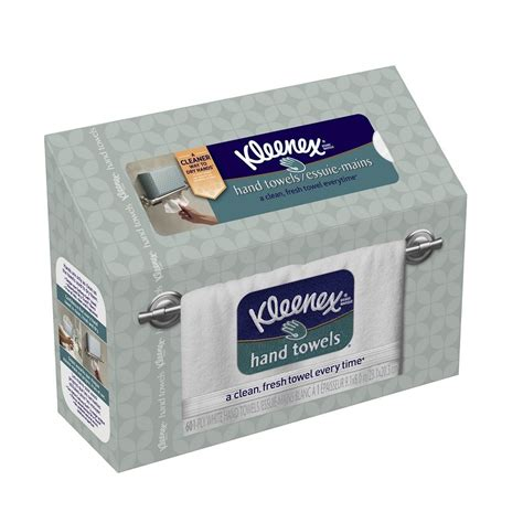Disposable Towels For Bathroom by Kleenex Towels 60 Count Pack 6 Tissue Paper White
