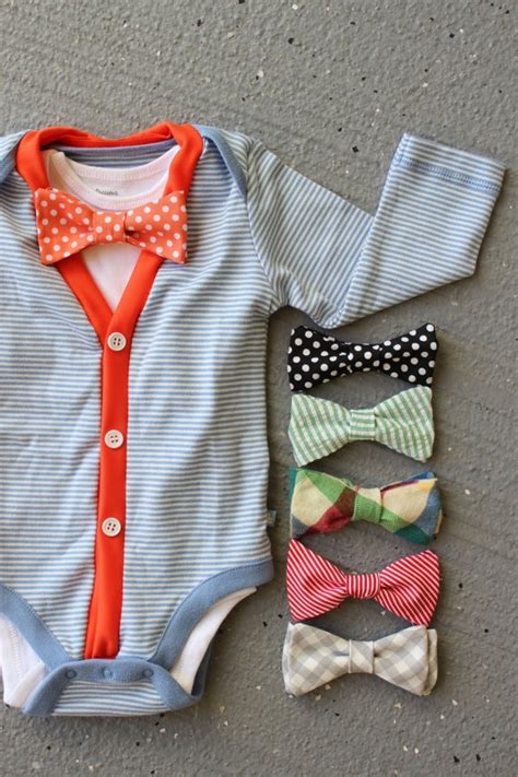 diy baby onesie with a bow tie free card template 58 best images about baby boy clothes diy on
