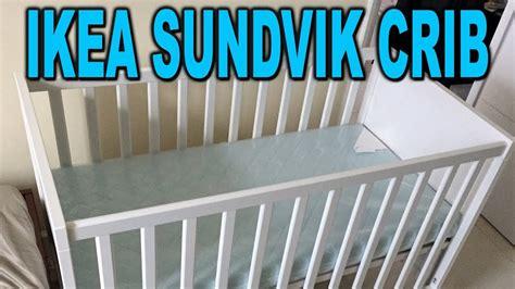assembling an ikea sundvik crib in 23 minutes time lapse