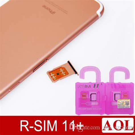 Rsim R Sim R Sim 11 Activation Unlock Iphone Su Support Ios 10 1 r sim 11 rsim 11 rsim11 r sim11 plus unlock card for iphone 7 iphone 6 unlocked ios 10