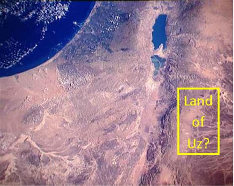 bible map | land of uz