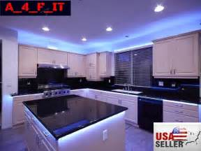 Under Cabinet Strip Lighting Kitchen by 4pcs Led Kitchen Under Cabinet Light Strip Rgb Smd 5050