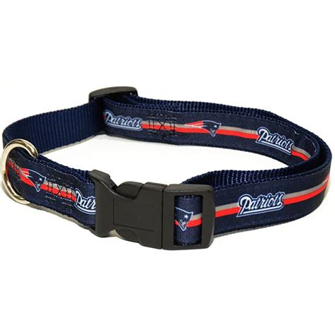 patriots collar new patriots nfl premium woven collar