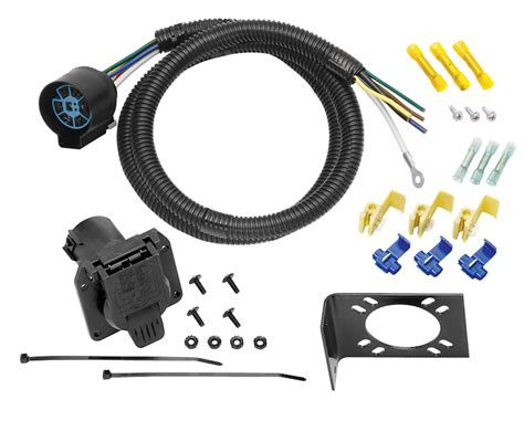 tow ready 20224 7 way trailer wiring harness connector ebay