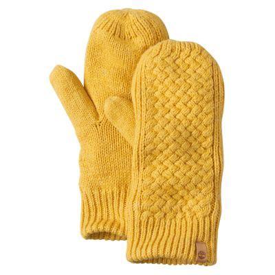 women's sea street waffle knit mittens | timberland us store