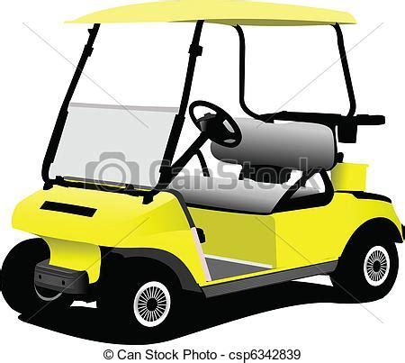 Golf Auto Arten by Eps Vector Elektrisch Golf Auto Vrijstaand Wh