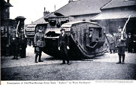 Hartlepool Records Egbert West Hartlepool S Tank This Is Hartlepool