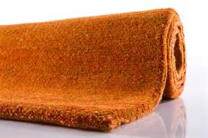 teppich orange casa 15 30 berber teppich uni orange bei tepgo kaufen