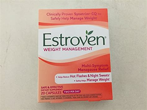 weight management estroven reviews estroven weight management 20 ct pack of 6 total of 120