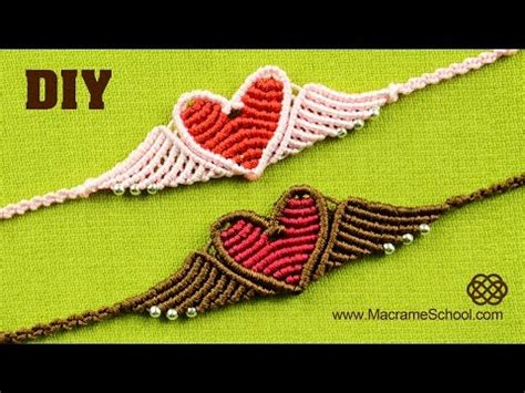 Macrame School - macrame school flying bracelet tutorial gt