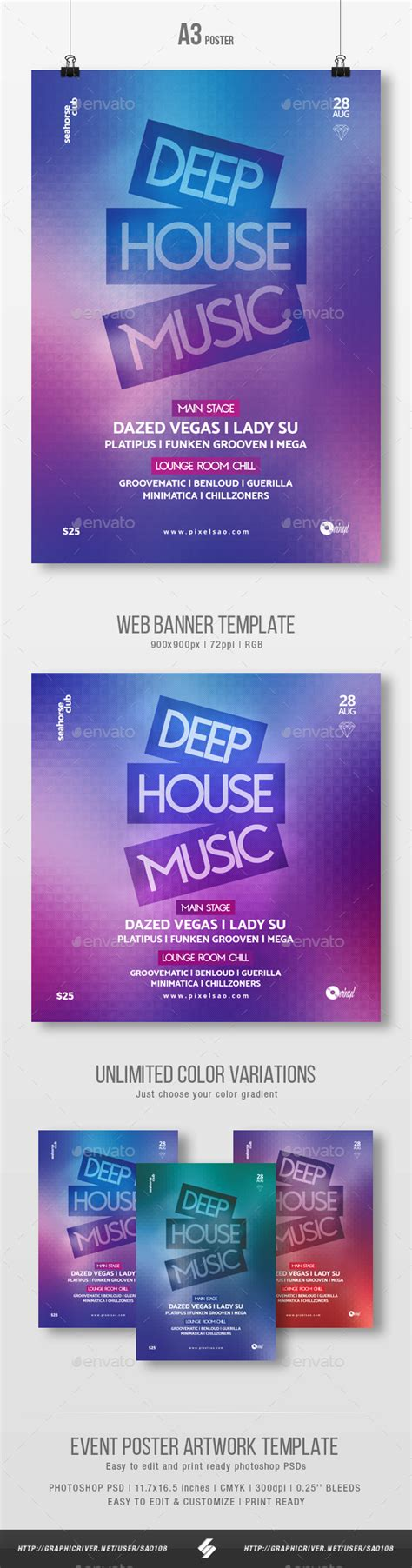 house music download sites download deep house music party flyer poster template a3 for free nullz gfx video
