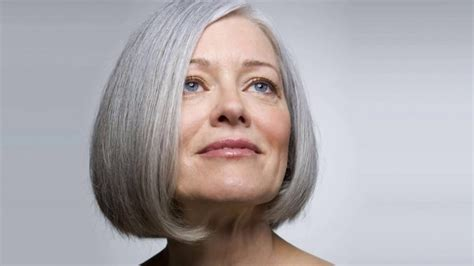 hairstyles for gray hair over 60 hairstyles for grey hair over 60 youtube