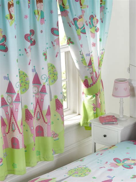 gevoerde gordijnen kant en klaar prinsessen feetjes gordijnen junior paar gordijnen roze