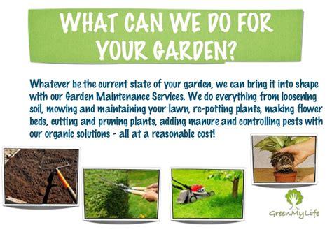 Garden Services by Green Mylife Garden Maintenance Services