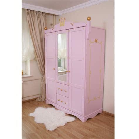 kleiderschrank rosa kleiderschrank f 252 r baby princess rosa bei oli niki kaufen