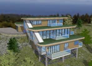 House on slope on pinterest house plans a house and wooden houses