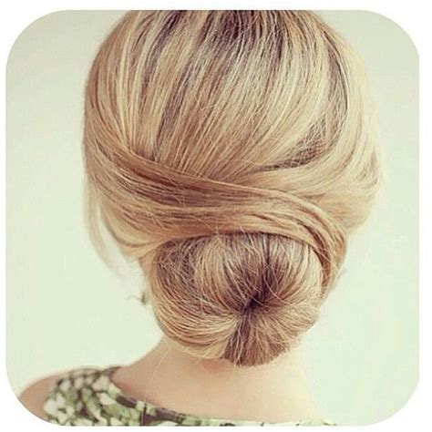 hairstyles with a hair donut chignon donut 233 l 233 gant classic donut bun hair