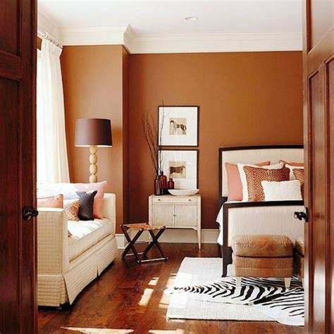 colored walls wall color brown tones warm and natural interior