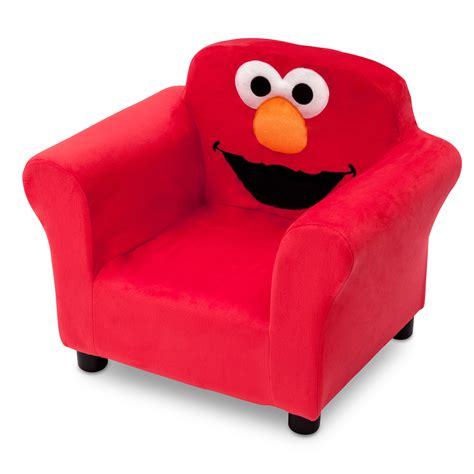 Elmo Chairs by Delta Children Sesame Elmo Upholstered Club