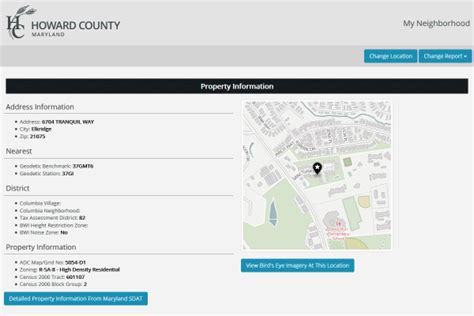 County Finder By Address Howard County Maryland Data And Viewer
