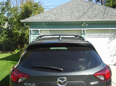 2008 mazda cx 9 roof rack cross bars do factory roof rack cross bars provide clearance above