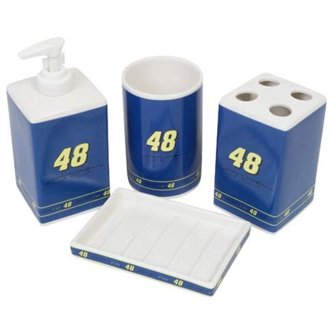 Jimmie Johnson Bedding Sets Jimmie Johnson 48 Nascar Bath Accessories