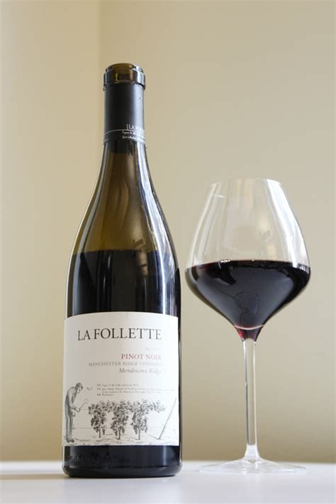 Happy Hour Kono Marlborough Pinot Noir by Wine Of The Day 2009 La Follette Manchester Ridge Pinot
