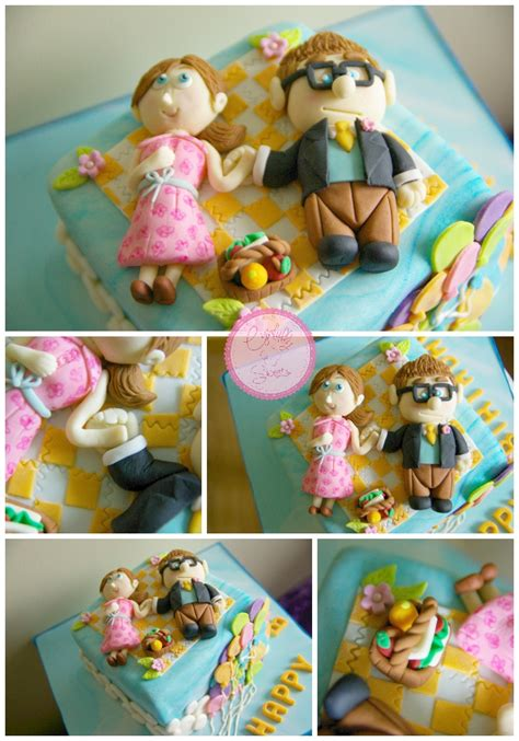 up themed cake disney pixar ellie carl toppers cynfullysweets disney