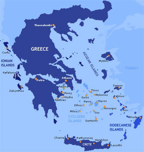 greek islands information blue travel greece