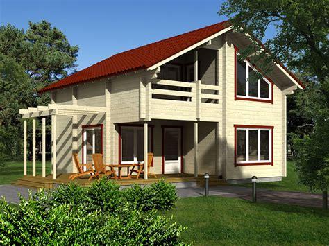 in casa in legno domus trade in legno in legno