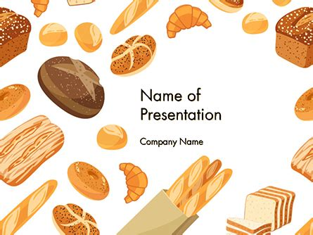 powerpoint themes bread powerpoint presentation templates and backgrounds