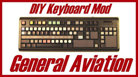 fsx keyboard template diy keyboard modification general aviation