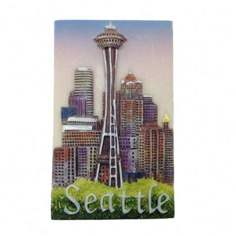 Seattle Giveaways - seattle souvenirs seattle needle magnet germangiftoutlet com