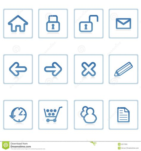 intern websites web icons website and intern stock illustration image
