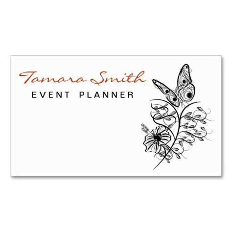 event planner business card templates