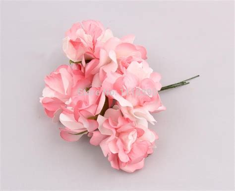 Paper Flower Decoration A2 aliexpress buy 5cm artificial decorative bouquets real touch roses tissue paper