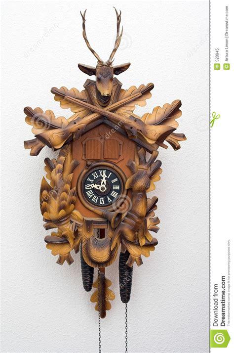 horloge a coucou horloge de coucou photo libre de droits image 520945