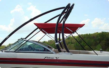 tige boat bimini tops bimini tops boats with ski and wakeboard towers