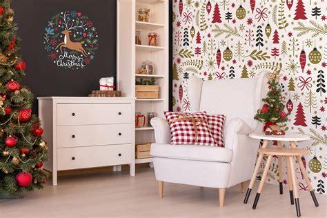 add holiday charm   walls  christmas murals