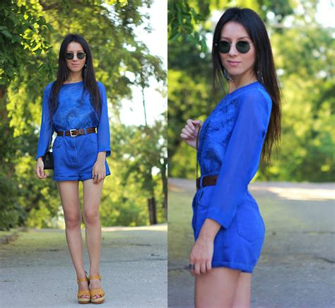 Bloomy Blouse elzara muslimova vintage shorts mango blouse koton heels feeling bloomy lookbook