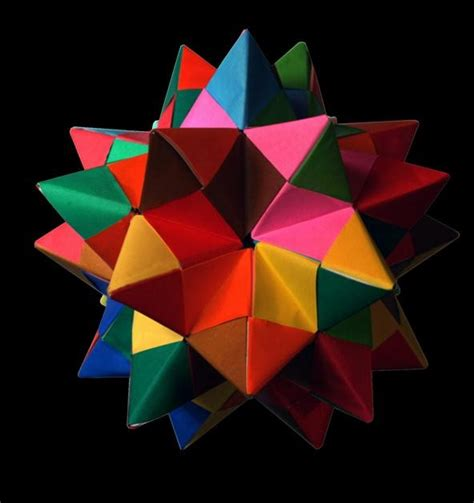 Modular Origami Dodecahedron - modular origami how to make a truncated icosahedron