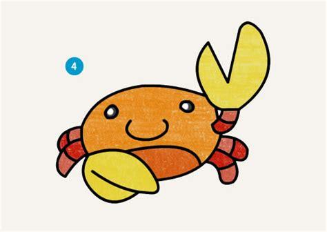 imagenes faciles para dibujar con color dibujamos al cangrejo acuarel con l 225 pices de colores