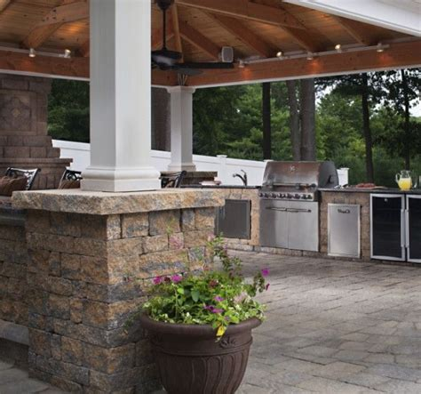 outdoor kitchen ideas and how to site it right traba homes fireplaces fire pits harken s landscape supply garden