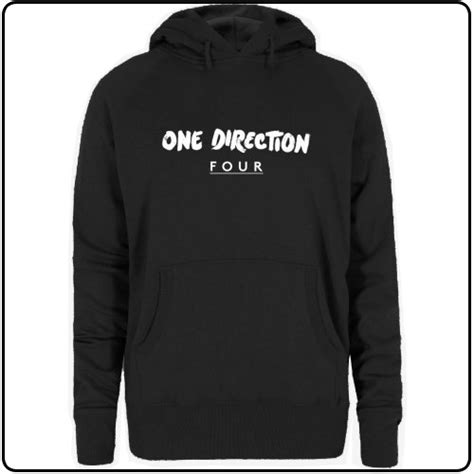 Hoodie One Direction Hitam 4 Zemba Clothing backstreetmerch four womens one direction