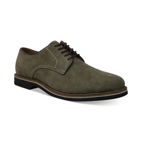 bass shoes oxfords g h bass co buckingham signature buck oxfords in gray