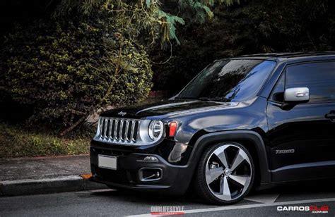 jeep renegade slammed renegade limited rebaixado com rodas aro 20