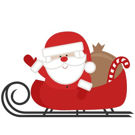 pictures of santas sleigh clipart best