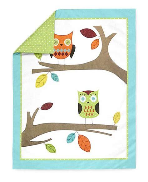Hooty Owl Crib Bedding Hooty The Owl Crib Bedding Set By Sweet Jojo Designs 9 Blanket Warehouse